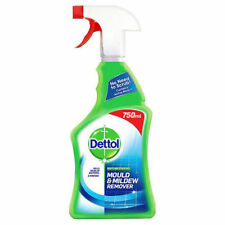 Dettol Anti-Bacterial Mould and Mildew Remover Spray 750ml Kills 99.7% Bacteria
