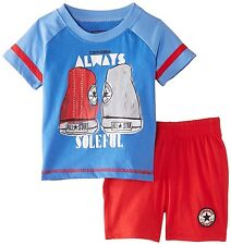 Converse Baby Boys 2piece Set Age 24 Months Blue/red