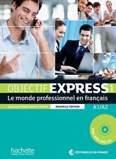 Objectif Express 1 NE Livre de l'élève + DVD-ROM) A1 A2 Hachette, Dubois, Tauzin