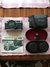"*MINT* Yashica ELECTRO 35 GSN Rangefinder ""SPIDERMAN"" Camera With Extra Lens"