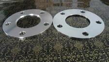 Two WHEEL HUBCENTRIC SPACERS 5X108MM | 5MM THICK | 63.4MM CB