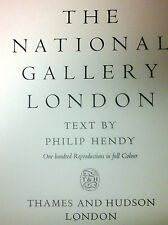 THe National Gallery London, text by Philip Hendy (Hardback ,1955)