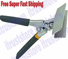 STRAIGHT FLAT JAW SHEET METAL FORM SEAMER SEAMING FORMER BENDER BENDING TOOL