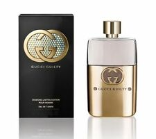 Gucci Guilty Diamond Limited Edition 3.0oz/90ml Edt Spray For Men New In Box