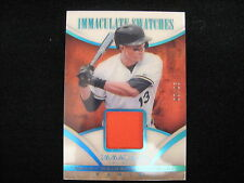 MANNY MACHADO GAME-WORN MATERIAL RELIC CARD--2014 IMMACULATE #'D TO 25 !!