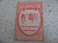 1916.Livres rose 153.Traits héroiques armée française.Guerre 14-18.Guyon