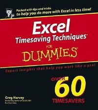 Excel Timesaving Techniques For Dummies-ExLibrary