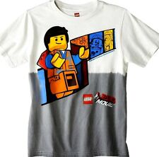 NEW Lego Movie Graphic Tee Top T Shirt! Construction Worker! Space Guy President