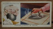 VINTAGE~WILLS~CIGARETTE~CARD~HOUSEHOLD~HINTS~NUMBER~No~#~4~X1~B5
