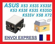 Connecteur alimentation dc power jack pj033 pc portable K72JR K73E