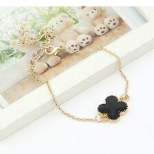 New Charming Women Flower Gold Plated Hand Cuff Bracelet Bangle Jewelry Gift