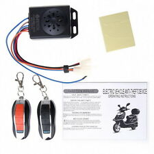 Motorcycle Motorbike Scooter Anti-theft Security Remote Alarm Waterproof JL