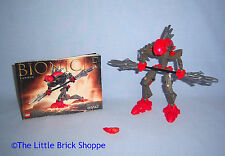 Lego Bionicle 8592 Rahkshi TURAHK - Complete with instructions & Kraata