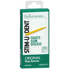 STIM-U-DENT DENTAL PLAQUE REMOVERS 100 PICKS MINT FLAVOR