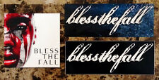 BLESSTHEFALL Hollow Bodies | Awakening | Witness New RARE Ltd Ed Stickers Lot