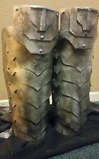 Shin Gauntlets Foam Armor Plates Predator Alien Warrior Cosplay Prop Costume