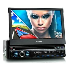 AUTORADIO MIT NAVIGATION NAVI GPS TOUCHSCREEN BILDSCHIRM DVD CD USB SD MP3 1DIN