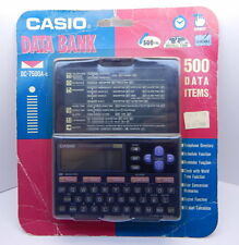 Casio Data Bank DC-4500A-s 500 Data Items SEALED NEW R12736