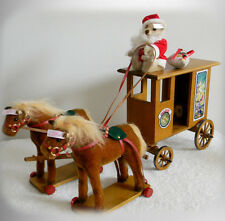 Steiff 2002 Santa Express stuffed animals and carriage - lmt edition - FREE SHIP