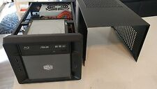 Home Theater PC Mini-ITX Cooler Master, Blu-ray, SSD, Windows 10
