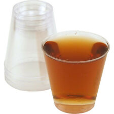 Disposable 2 oz Clear Plastic Shot Cups- Case of 1250- Liquor Bar Shooter Glass