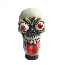 Skull Head Universal Car Auto Shifter Gear Shift Knob Manual Stick Lever For Car