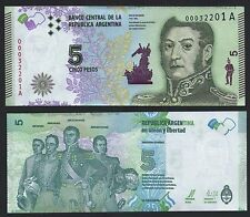 ARGENTINA  5 PESOS***ND 2015***UNC GEM**LOOK SUPER SCAN