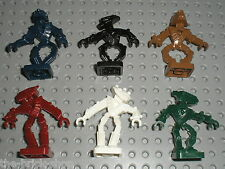 6 x Personnages LEGO Bionicle minifig / Set 8758 8759 8769 8757 ...