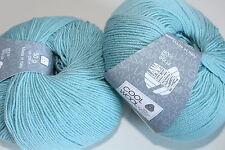 Wolltruhe!  Lana Grossa     Cool Wool  Baby  Fb. 261  mint  50g