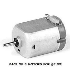 PACK OF 3 FA130 1.5 TO 3 VOLT MOTORS IDEAL FOR SCHOOL PROJECTS