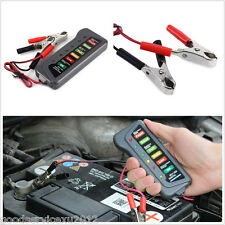 New 12V 6LED Lights Digital Car Off-Road Battery Alternator Test Tester Tool Kit