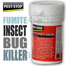 NEW Pest-Stop FUMITE INSECT KILLER 3.5g Kills Flies Bugs Ant Cockroaches Bedbugs