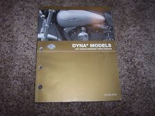 2007 Harley Davidson Dyna Wide Super Glide Street Bob Parts Catalog Manual Book