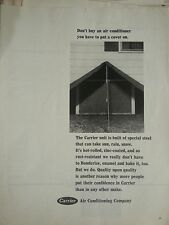 1966 Carrier DontBu Air Conditioner Have to Put Cover on ConditioningOriginal Ad