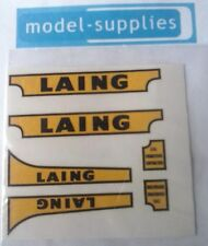 """Matchbox K8a Mover & trailer """"Laing"""" reproduction decals"""