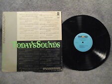 33 RPM LP Record Music Minus One Todays Sound w/ Sheet Music MMO Records MMO1052
