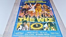 THE WIZ  ! michael jackson  diana ross affiche cinema