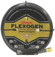 NEW GILMOUR 1058050 GRAY GARDEN WATER HOSE GILMOUR FLEXOGEN 5/8'' X 50' FOOT