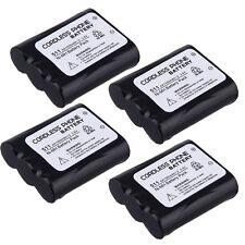 4x HomePhone Battery for Panasonic KX-TG2239 KX-TG2247 KX-TG2247S KX-TG2257 3.6V