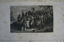 Druck Buchseite Napoleon bei Essling Th. Rausitz (N 64)