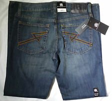 NWT $88 Rock & Republic MECHANIC Bootcut Henlee Jeans Mens 30x32 100% Cotton