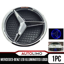 Illuminated LED Front Grill Star Emblem Logo Mercedes-Benz 2011-15 E/GLK/A/B/ML