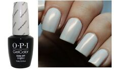 OPI Gelcolor ~OH MY MAJESTY!~ Pearly White Alabaster UV/LED Gel Nail Polish BA2