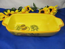 Vintage 1971 LOS ANGELES POTTERIES Meat Loaf Casserole Dish Pottery