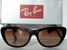 NEW* Ray Ban RB 4227 Tortoise Frame w Bronze Lens Women's Sunglass $140