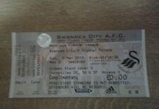 Swansea City V Palacio de Cristal 2ND 2014 de marzo Premier League Menta