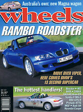 WHEELS May 97 BMW  Z4 M MGF VVC A6 Boxster Xantia CT Prelude VTi-R Falcon GT HSV