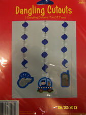 Rescue Pals Dog Police Officer Kids Birthday Party Decoration Dangling Cutouts