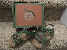Livie & Luca Toddler Girls Shoes Olive (Green) Size 7 NIB