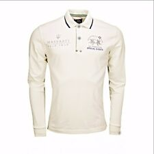 LA MARTINA MASERATI,New Men's,Long sleeve Polo T-Shirt !!! 4XL !!!